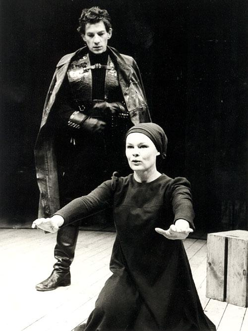 Sir Ian McKellen and Dame Judi Dench in the 1978 Royal Shakespeare production of Macbeth - Source